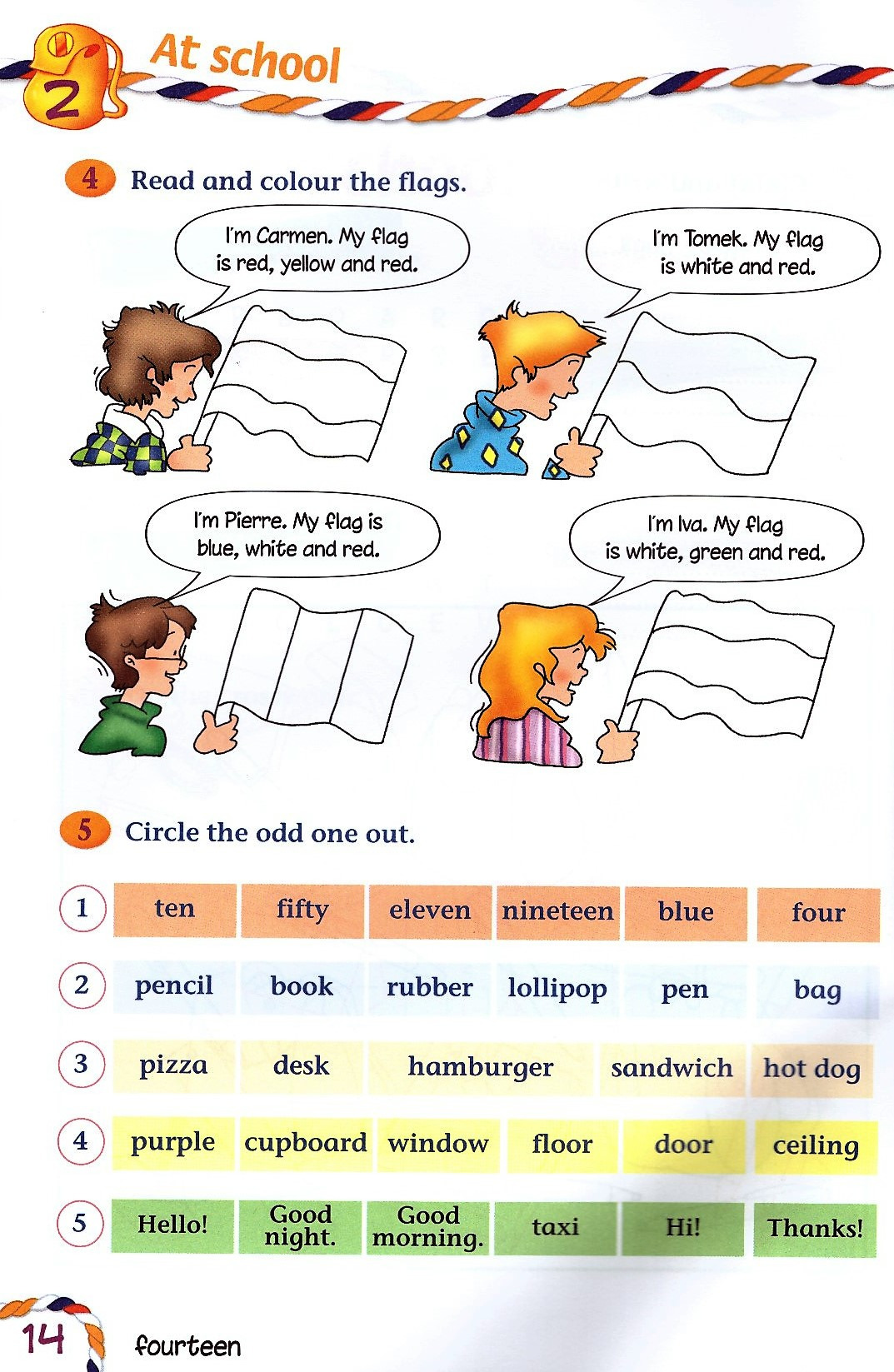 Изображение Join Us for English 2 Activity Book страница 3